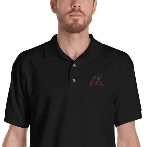 TR Troop Rising TR 1 RED Edition Embroidered Polo Shirt