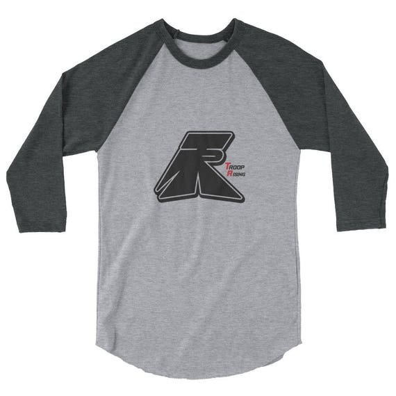TR Troop Rising TR OG Tracer Edition 3/4 sleeve raglan shirt