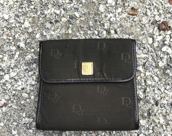 Vintage Christian Dior Bag Small Wallet Masterpiece From Modele Exclusif  Made In France dior speedy dior monogram dior purse  07086b081167f