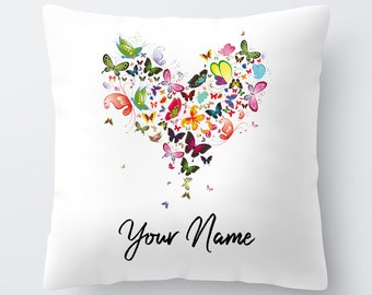 Beaded Valentine Hearts Pillow | Pier 1