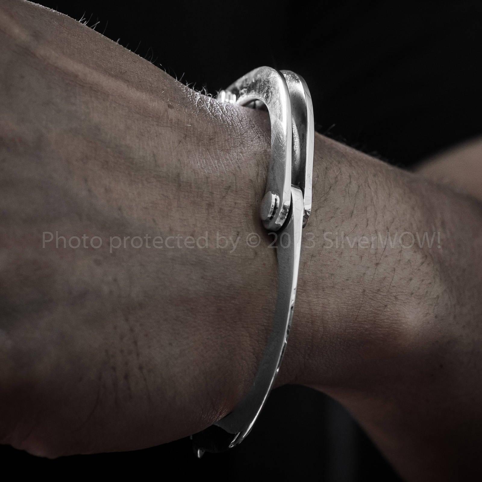Echte Handschellen