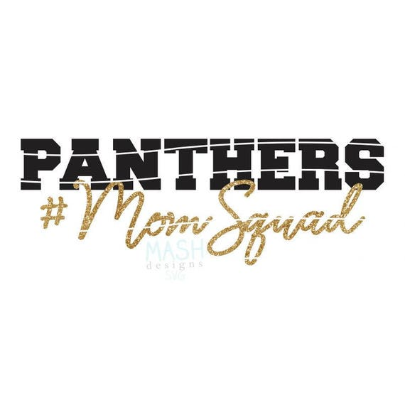 Panthers Mom Squad svg football mom svg momsquad svg  584564731