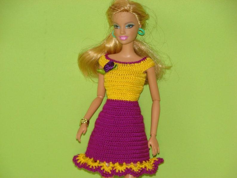 Barbie Vestiti Vestito Barbie Barbie Barbie Accessori Vestiti Etsy