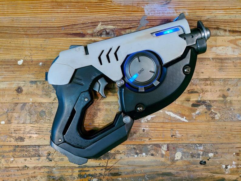 Overwatch Tracer Gun Pulse Pistol STL Files for 3D Printing image 0