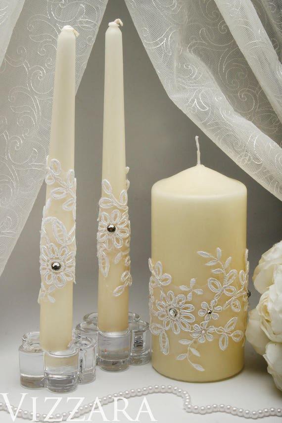 Wedding Rustic Unity Candles Holders Wedding Ceremony