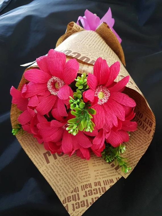 5 10 paper chrysanthemums handmade crepe paper flower 5 10 paper chrysanthemums handmade crepe paper flower weddingdecoration bridal bouquet from paperflowersbyannie on etsy studio mightylinksfo