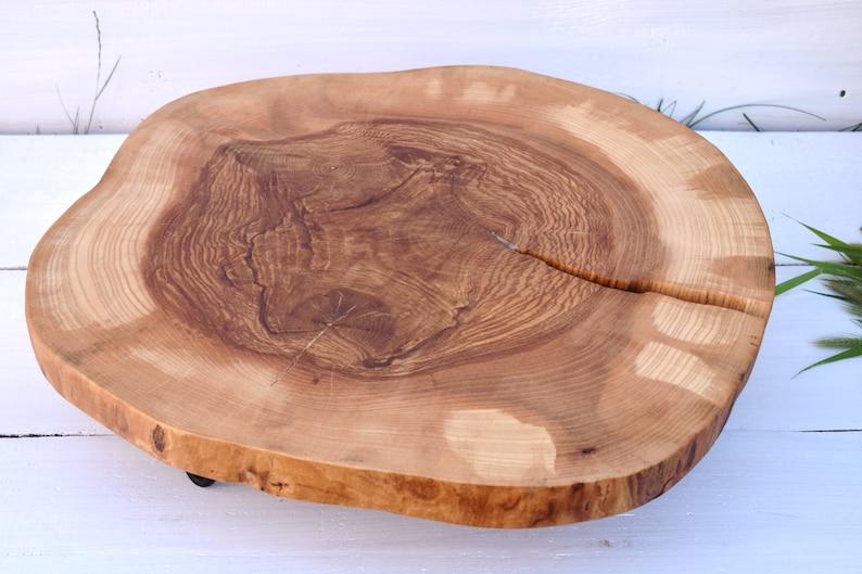 21 6 Ash Tree Wood Mini Table Rustic Wedding Etsy