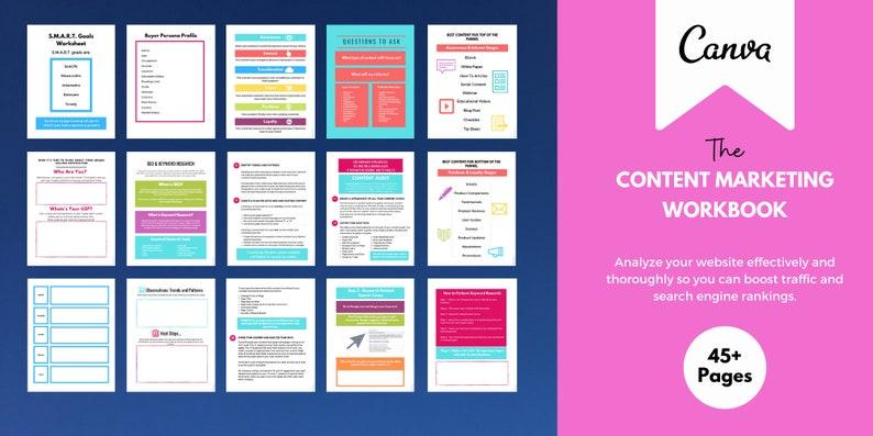 Content Marketing Plan Workbook image 0