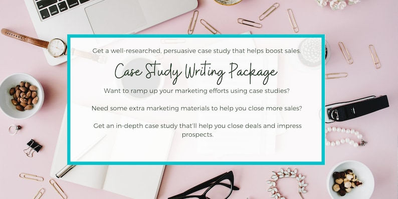 Case Study Writing Package  Business Case Study Writing image 0