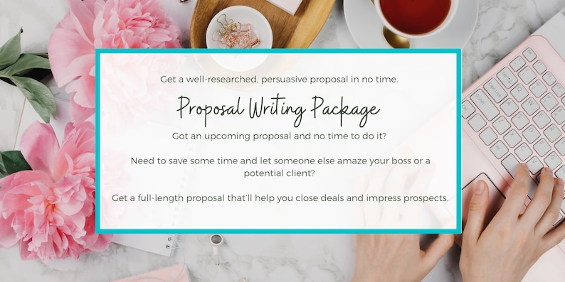 Proposal Writing Package  Proposal Template  Proposals  image 0