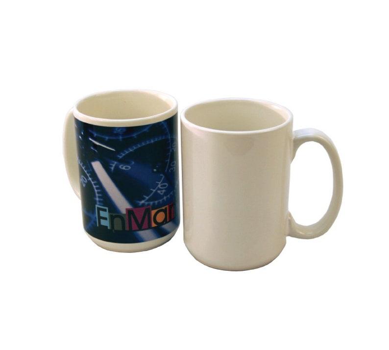 Sublimation Blank Mugs, 15 oz, Ultra Hard Coating, Sublimation Drinkware,  Sublimation Coffee Cups, Blank Mug, Sublimation Blanks