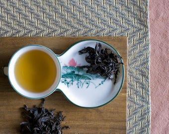 Certified Organic Wu Yi Oolong Loose Leaf Tea // 4 ounces