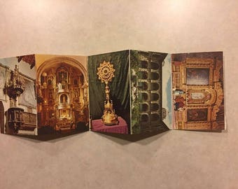 Multiple Postcards, Accordion Fold: Peru, Art/Architecture