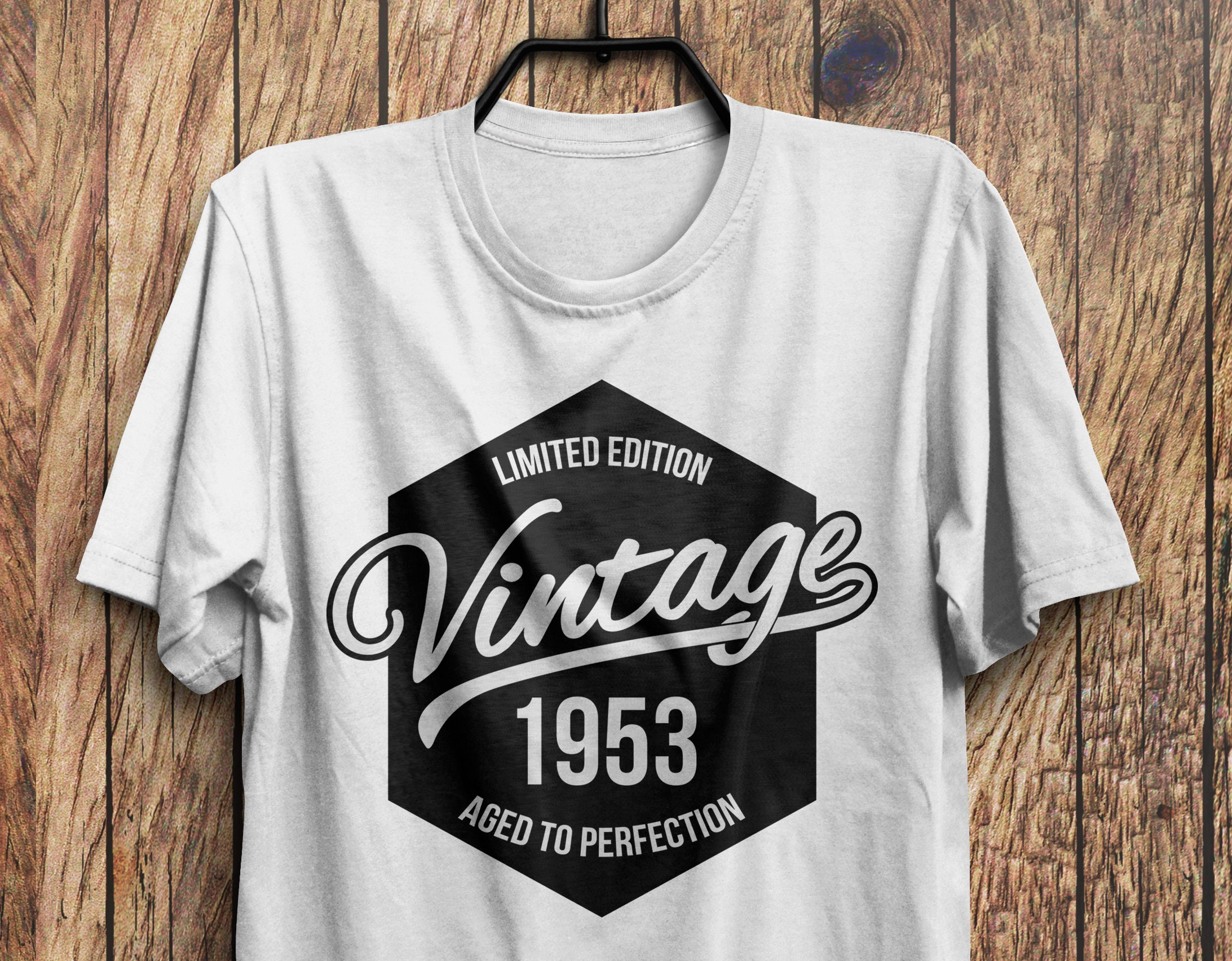 65th Birthday T Shirt 1953 Gift Vintage