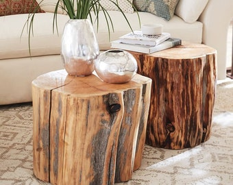 Astonishing Tree Stump Table Etsy Camellatalisay Diy Chair Ideas Camellatalisaycom