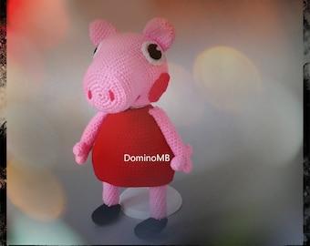 Portuguese - Sweet Peppa Pig and George Pig amigurumi pattern ... | 270x340