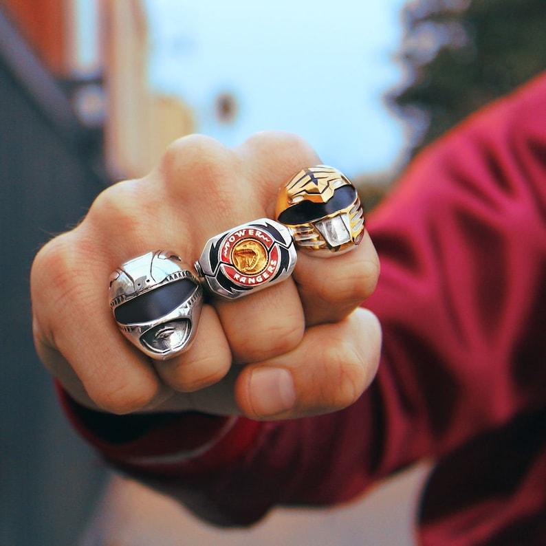 Mighty Morphin Power Rangers Power Morpher Ring