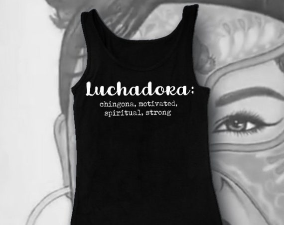 Custom Cut Chola Tank Top For Women