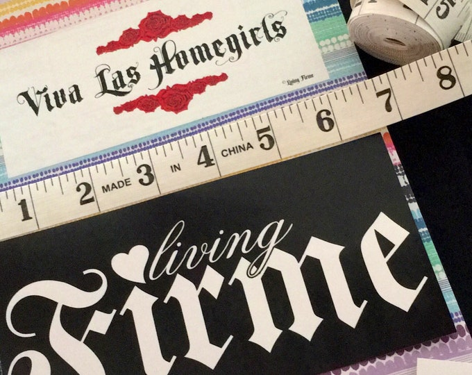 Living Firme Stickers