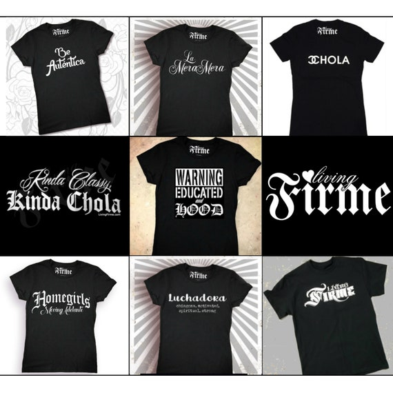 Chola T-shirts Unisex Extended Sizes Now Available!