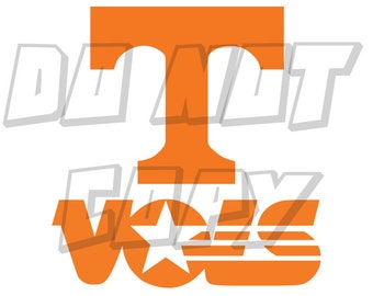 Sweet as soda pop vinyl decal sticker windshield banner UT Vols Tennessee 7/'/'