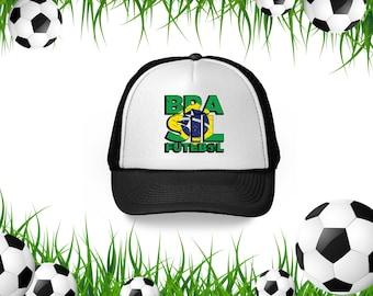 9539e01c1ab Brasil Futebol Hat Brazilian Flag Snapback Hat Brazil Trucker Hat for Men  and Women Brazil 2018 Snapback Hat Brazil Soccer Gifts Brazil Hats