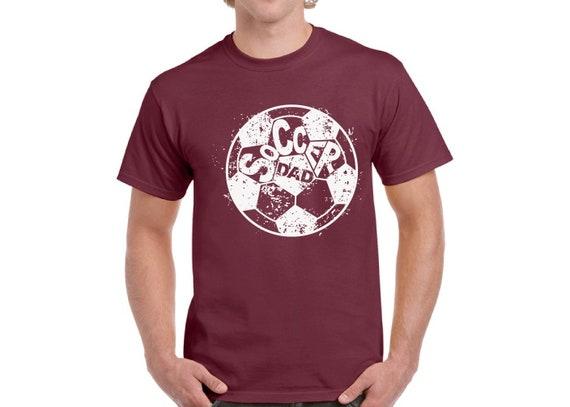 1d473be0 Soccer Dad Tshirt Soccer Shirts for Dad Men's Dad T-Shirt   Etsy