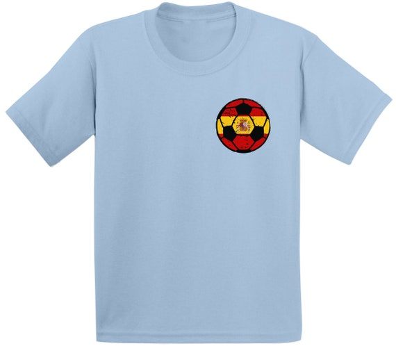 España Spain Baby Bodysuit Infant Soccer Jersey Futbol Flag T-Shirt  Gift