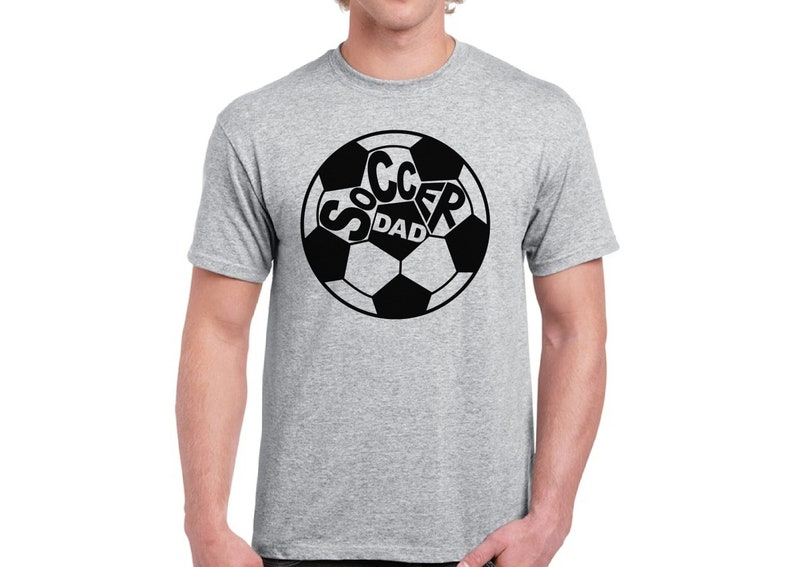 44b320b5 Soccer Dad Shirt for Men Soccer Gifts for Dad Soccer Ball   Etsy