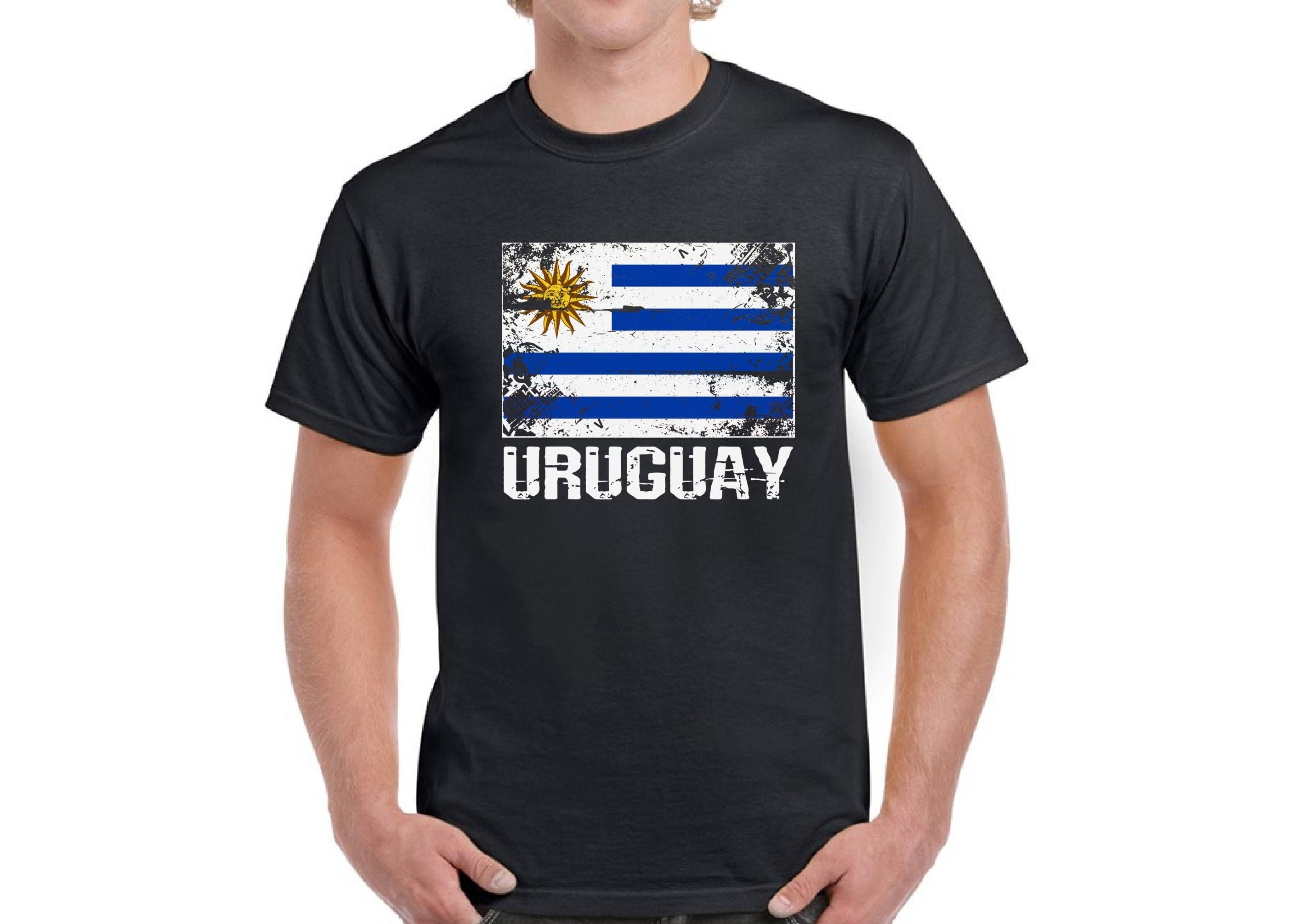 Uruguay Shirt For Men Uruguay Flag Shirt Uruguayan Soccer Shirts Uruguay 2018 T-shirt Gifts From Uruguay Uruguayan Mens Shirt Uruguay Gifts SweatShirt