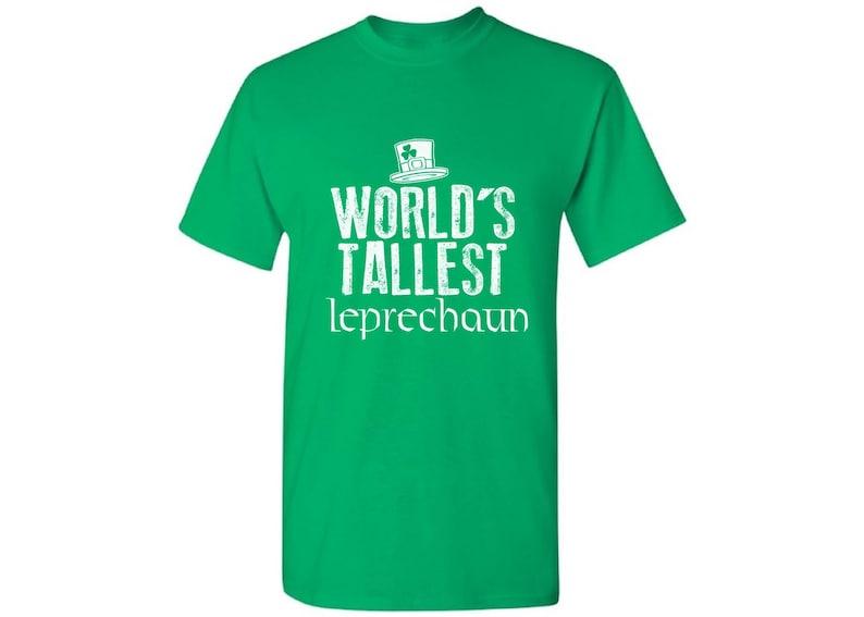 150631df7 World's Tallest Leprechaun Tshirt for Men Funny Irish   Etsy