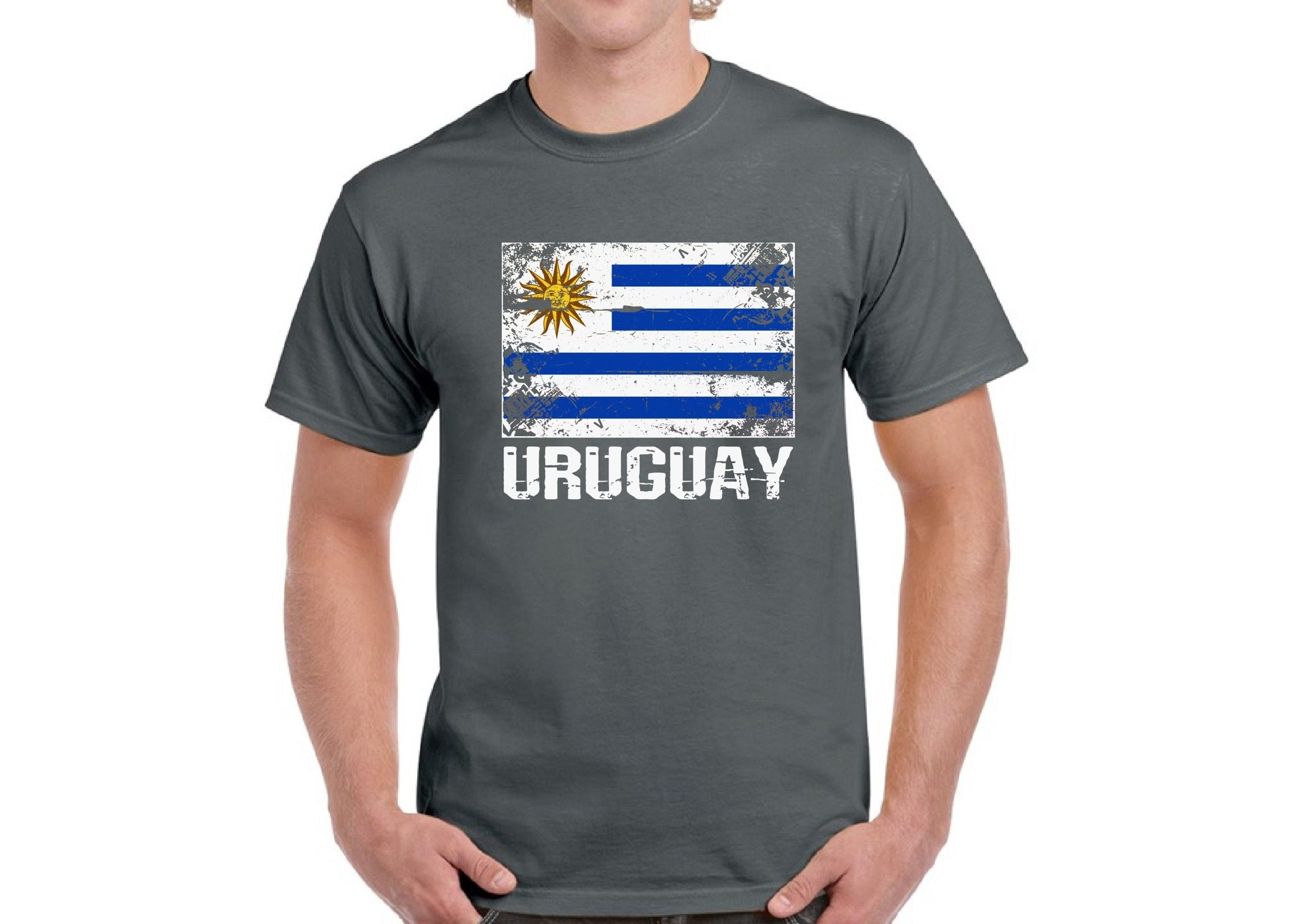 Uruguay Shirt For Men Uruguay Flag Shirt Uruguayan Soccer Shirts Uruguay 2018 T-shirt Gifts From Uruguay Uruguayan Mens Shirt Uruguay Gifts LongSleeve Tee