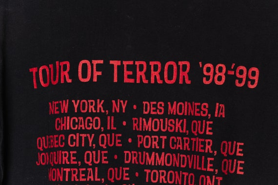 Anthrax 90's Black Vintage tshirt, Classic Metal … - image 5