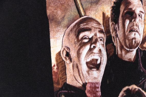 Anthrax 90's Black Vintage tshirt, Classic Metal … - image 4