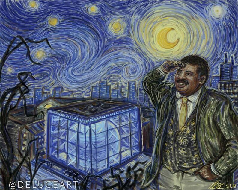 Starry Neil and the Hayden Planetarium (8