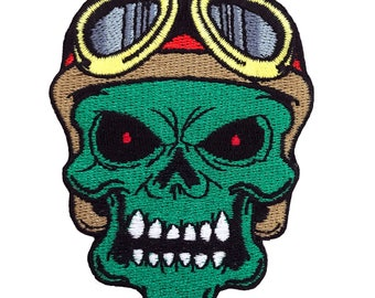 """Lost at Sea 3"""" Embroidered Patch, Iron on Patch, Pirate Patch, Denim Patch, Zombie Patch, Skeleton Patch"""
