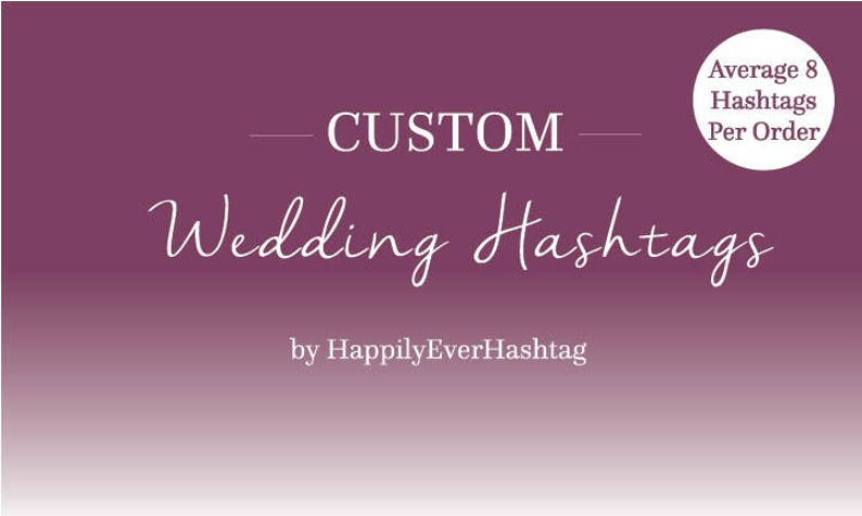Wedding Hashtags Generator.Wedding Hashtag Generator Custom