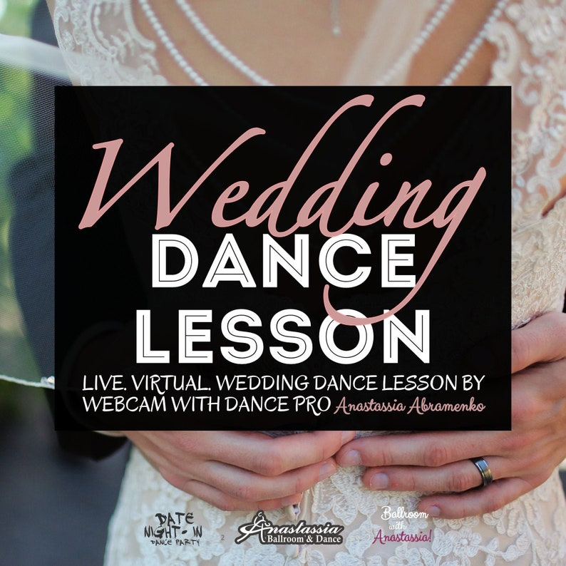 Live Online Wedding Dance Lesson  First Dance Together  image 0