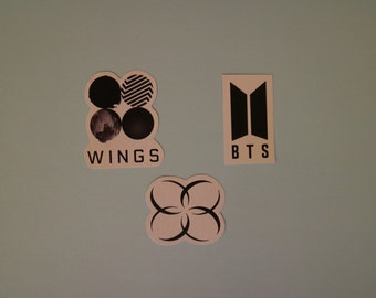 BTS Logos Stickers