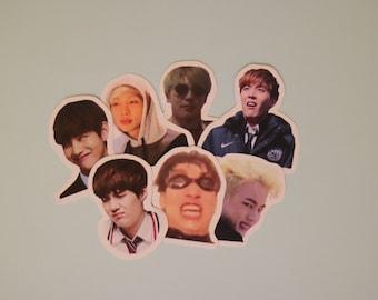 BTS 'Derp' Stickers