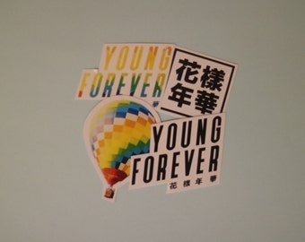 BTS 'Young Forever' Stickers