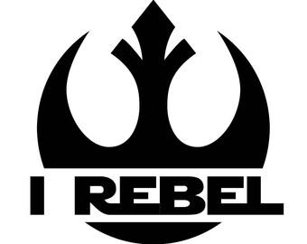 I REBEL Star Wars Rogue One Die-Cut Decal