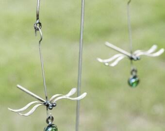 Balancing Dragonfly Garden Art ~ Metal Yard Decor ~ Garden Stake ~ Spoon  Art ~ Steel Sculpture ~ Garden Statue ~ Housewarming Gift~Christmas