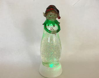 "Holiday Glitter Light by Valerie - 12"" Battery Operated"