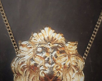 Lion Brooch/Necklace