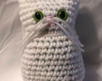 Crochet Kitty Cat Amigurumi Doll