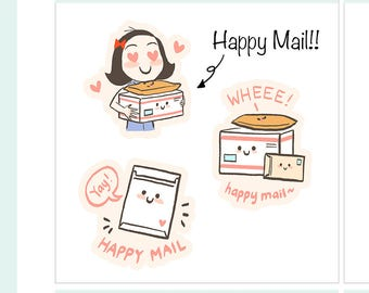 CoCo Happy Mail Planner Stickers