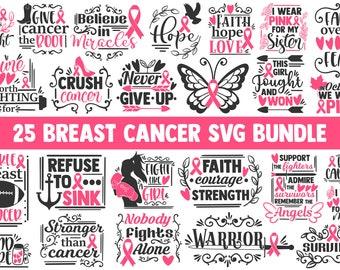 Breast Cancer Svg Etsy