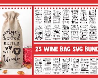 Wine bag SVG Bundle, wine svg, svg designs, wine glass svg, wine quotes svg, funny svg sayings, funny wine svg, mom svg, drinking svg, png