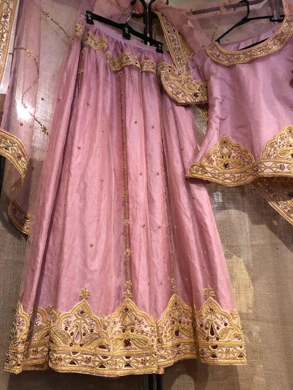 Pink Lehenga party dress/wedding dress - image 3